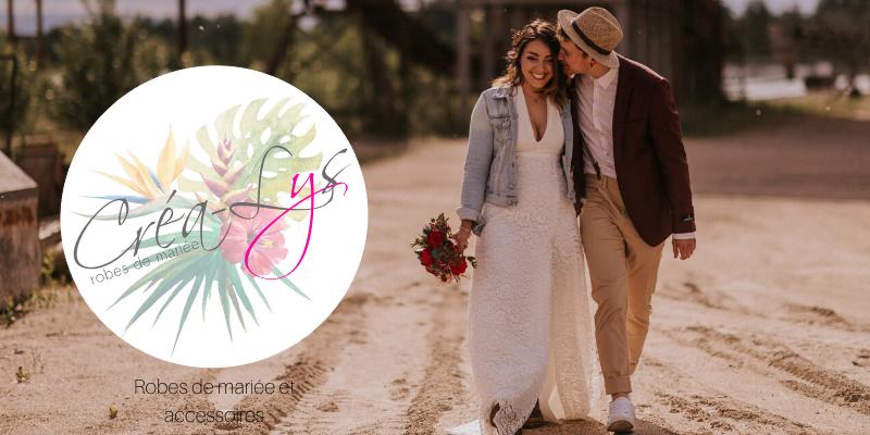 Créa-Lys – Robes de mariée et accessoires